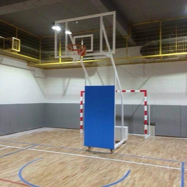 Seyyar Akrilik Cam Panyalı Basketbol Potası