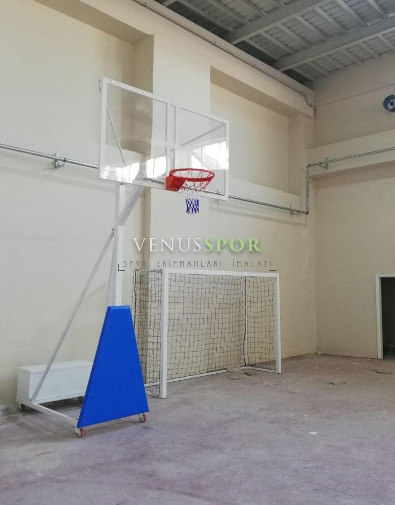 Sabit Cam Panyalı Basketbol Potası