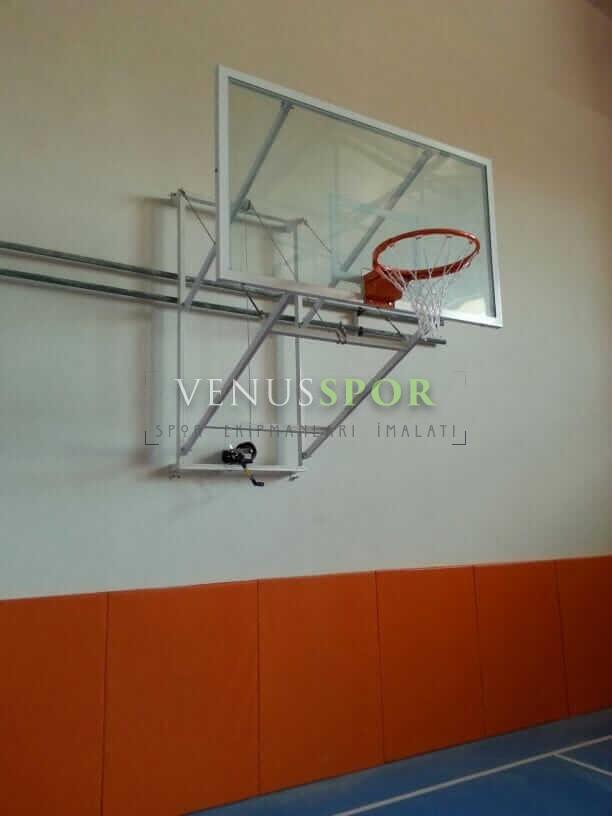 Ayarlı Akrilik Cam Panyalı Basketbol Potası